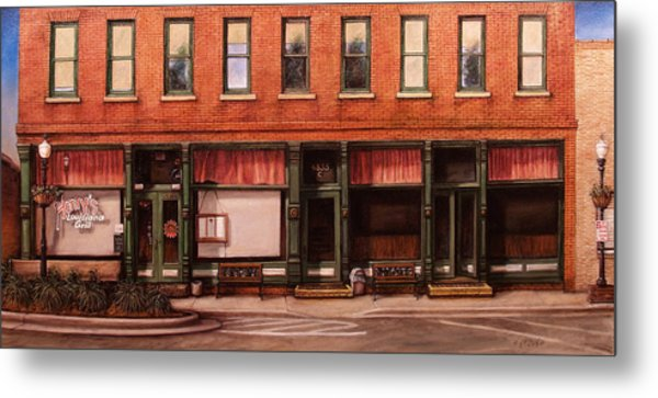 Sunday Morning Acworth Metal Print by Rick McClung