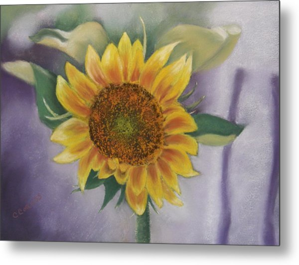 Sunflowers For Nancy Metal Print