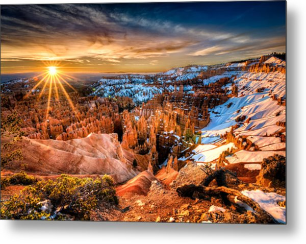 Sunrise At Bryce Metal Print