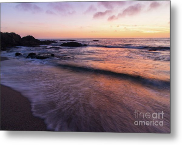 Sunset Over Laguna Beach   Metal Print