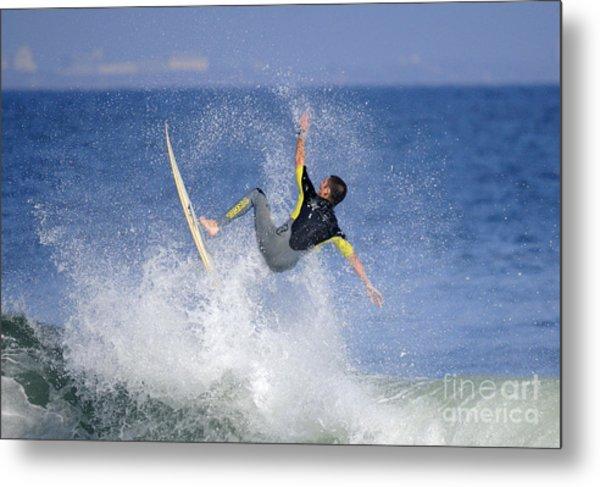 Surfer Metal Print by Marc Bittan