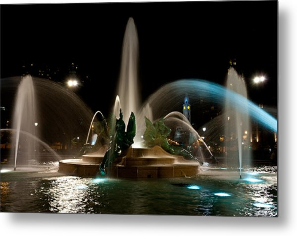 Swann Memorial Fountain Metal Print