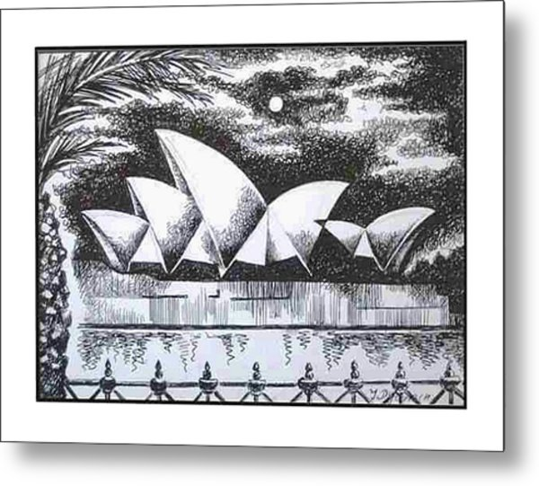 Sydney Opera House I Metal Print by Yelena Revis