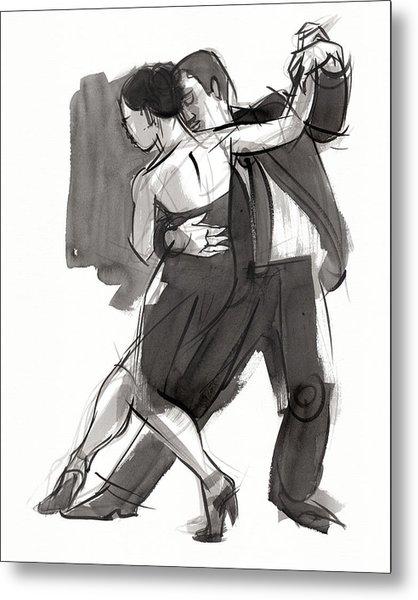 Tango 9 Metal Print