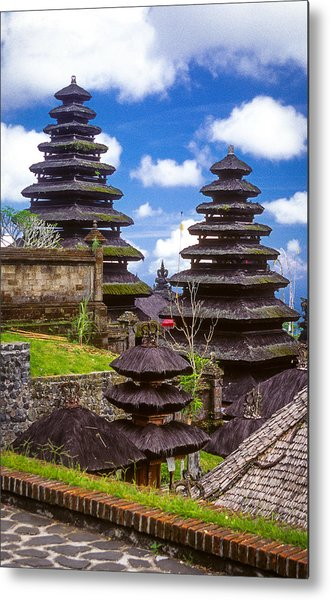 Metal Print featuring the photograph Temple City by T Brian Jones