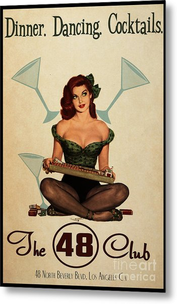 The 48 Club Metal Print