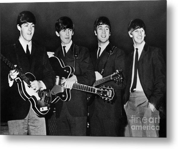 The Beatles Metal Print by Granger