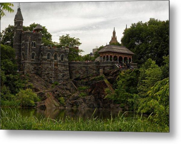 The Belvedere Castle Metal Print by M Nuri Shakoor