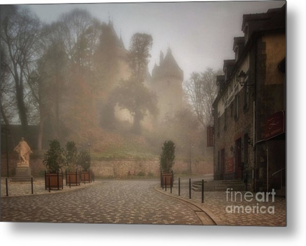 The Castle In The Myst Metal Print