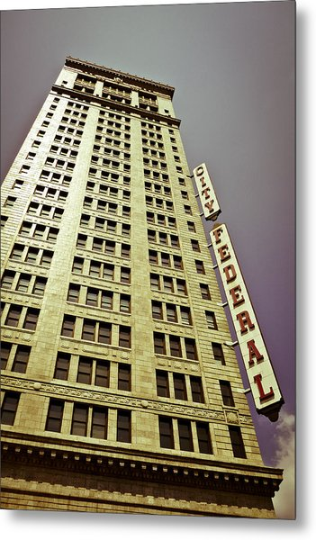 The City Federal Metal Print
