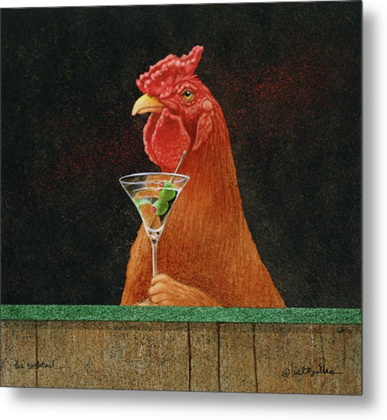 The Cocktail... Metal Print