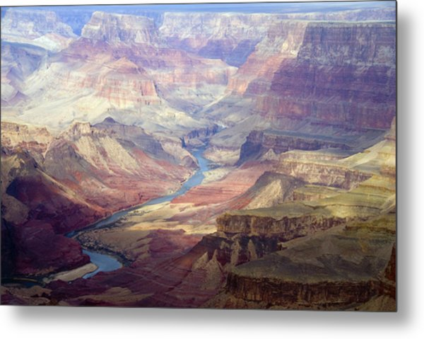 The Colorado River And The Grand Canyon Metal Print