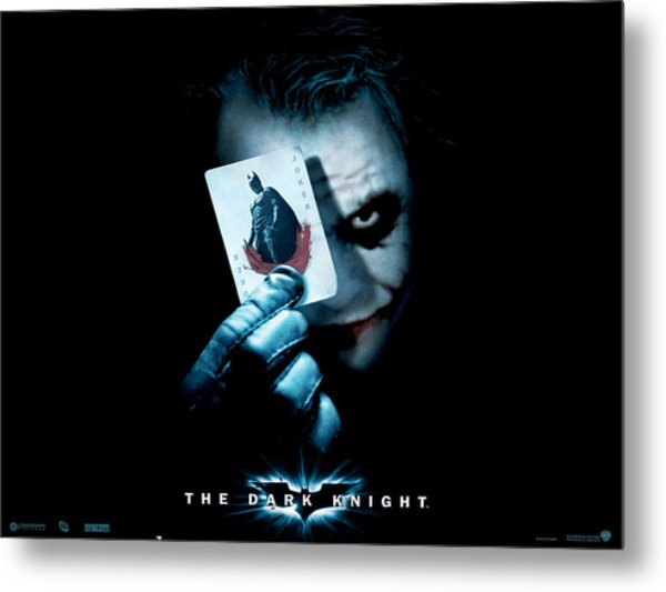 The Dark Knight 2008  Metal Print
