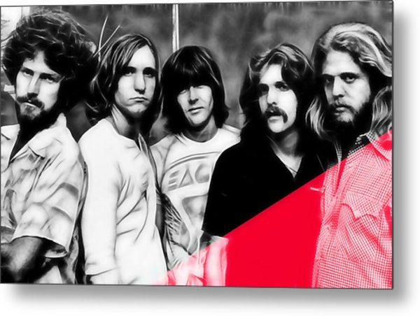 The Eagles Collection Metal Print