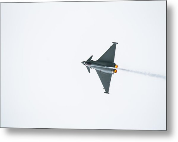 The Eurofighter Typhoon Metal Print