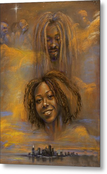 The Faces Of God Metal Print