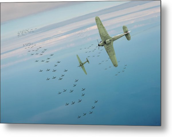 Metal Print featuring the photograph The Few by Gary Eason