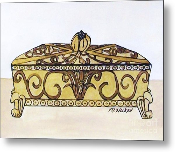 The Jewelry Box Metal Print by Marsha Heiken