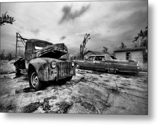 The Last Tow Metal Print