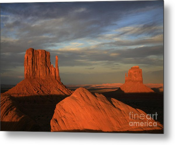 The Mittens Metal Print