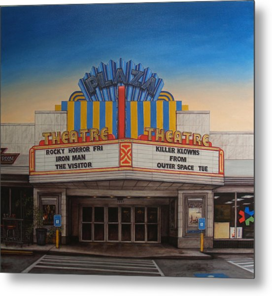 The Plaza Metal Print by Rick McClung