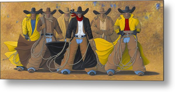 The Posse Metal Print