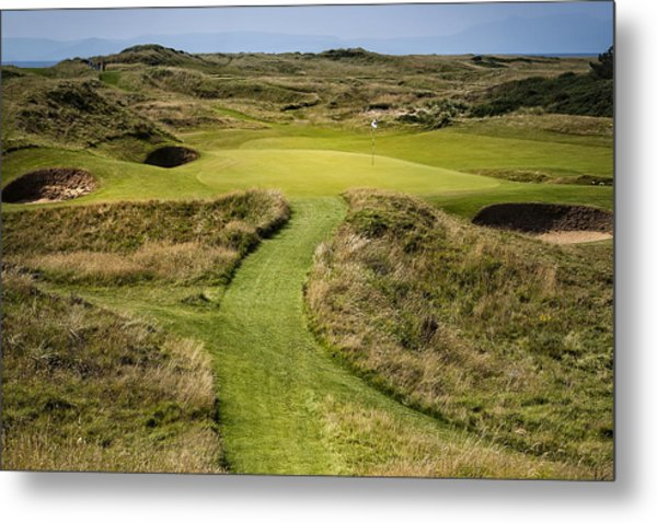 The Postage Stamp - Royal Troon Golf Course Metal Print