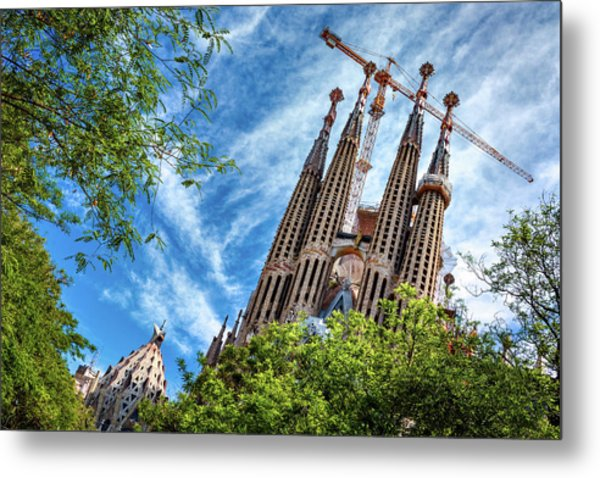 The Sagrada Familia Metal Print