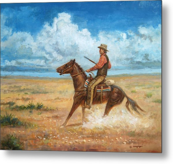 The Tracker Metal Print