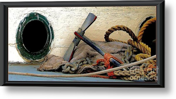 Thoughts Of The Sea Metal Print