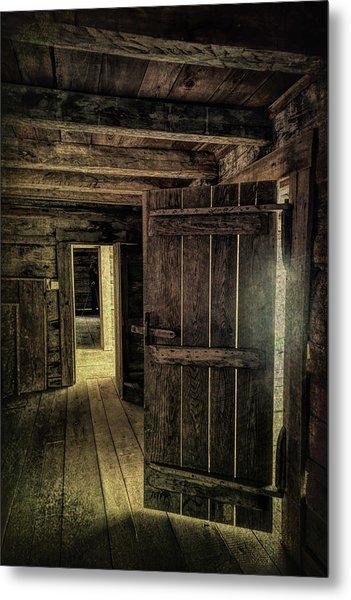 Tipton Cabin Metal Print
