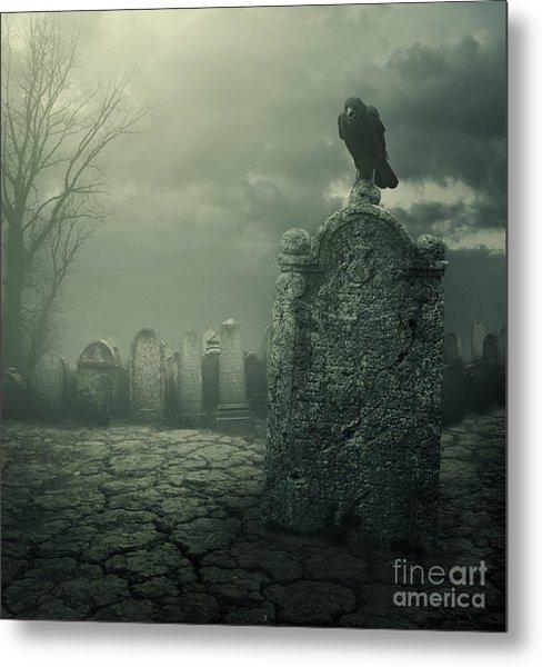 Tombstone Metal Print