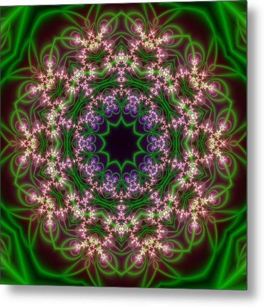 Metal Print featuring the digital art Transition Flower 10 Beats by Robert Thalmeier