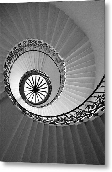 Tulip Staircase Metal Print
