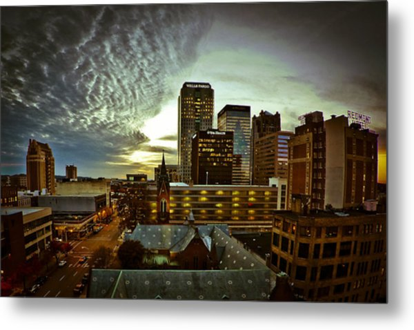 Twilight Birmingham Metal Print