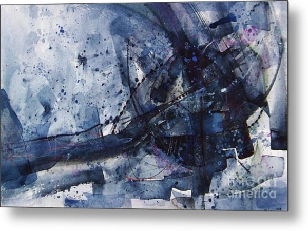 Untitled Abstraction Metal Print
