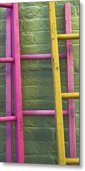 Metal Print featuring the photograph Upwardly Mobile by Skip Hunt