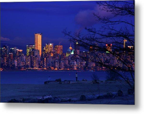 Vancouver Skyline Metal Print by Paul Kloschinsky
