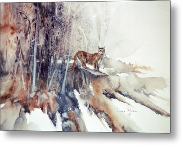 Vantage Point Metal Print by Lynne Parker