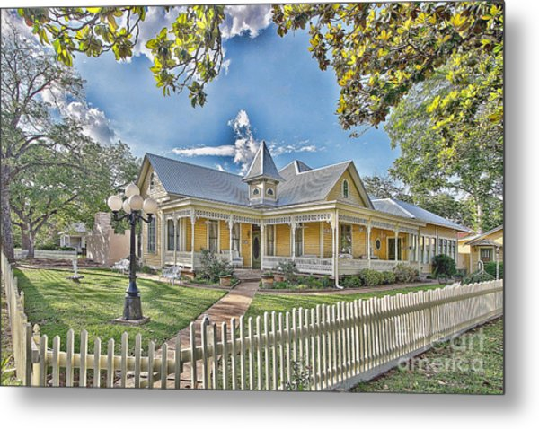 Victorian Sunday House Metal Print
