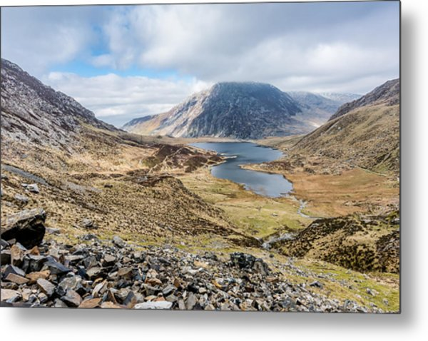 View From Glyder Fawr Metal Print