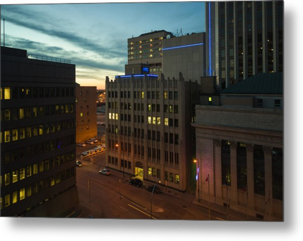 View From The Fairmont Metal Print by Bryan Scott