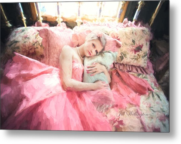 Vintage Val Bedroom Dreams Metal Print