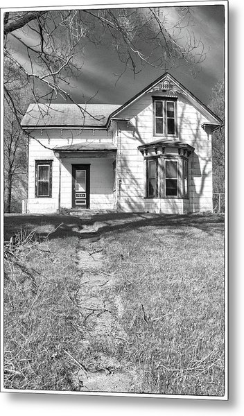 Visiting The Old Homestead Metal Print