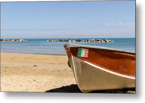 Waiting Summer Metal Print