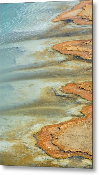 Wall Pool In Yellowstone National Park Metal Print