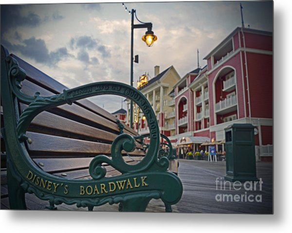 Walt Disney World - Boardwalk Villas  Metal Print