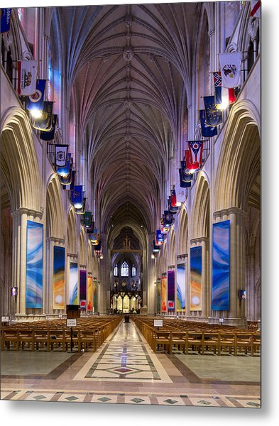 Washington National Cathedral - Washington Dc Metal Print