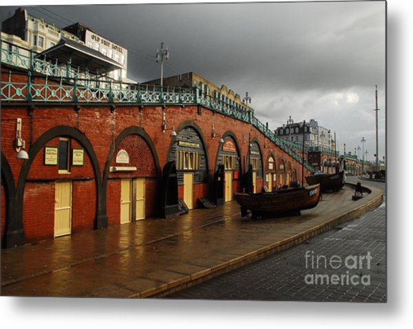 Welcome To Brighton Metal Print