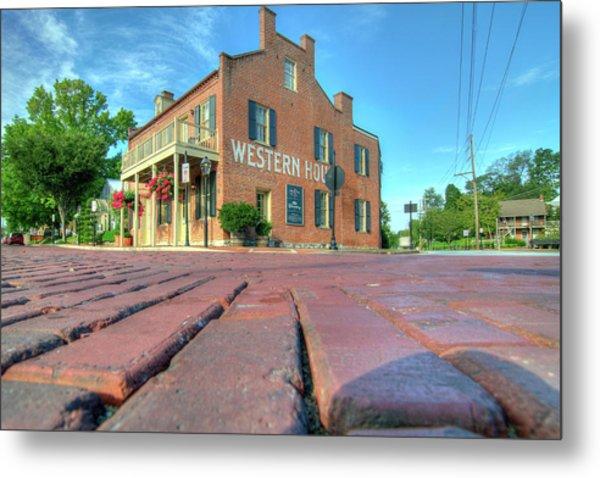 Western House Metal Print